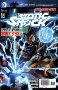 Static Shock #7 (2012)