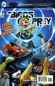 Birds of Prey #7 (2012)