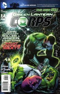 Green Lantern Corps #7 (2012)
