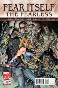 Fear Itself: The Fearless #10 (2012)