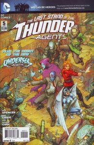 T.H.U.N.D.E.R. Agents #5 (2012)