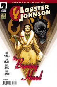 Lobster Johnson: The Burning Hand #3 [8] (2012)