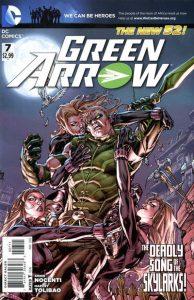 Green Arrow #7 (2012)