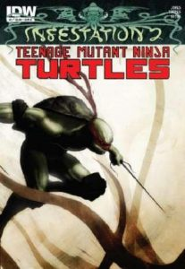 Infestation 2: Teenage Mutant Ninja Turtles #1 (2012)