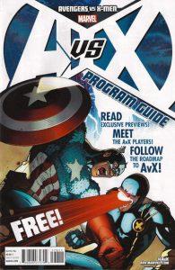 Avengers vs. X-Men Program #1 (2012)