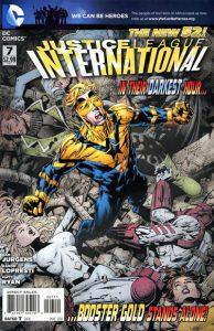 Justice League International #7 (2012)