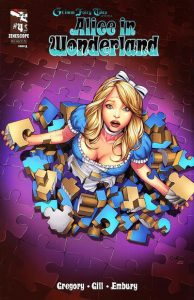 Grimm Fairy Tales Presents Alice in Wonderland #4 (2012)