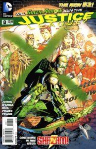 Justice League #8 (2012)