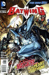 Batwing #8 (2012)