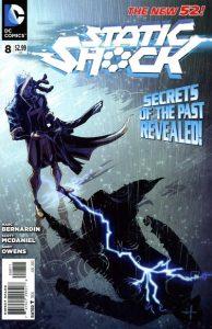 Static Shock #8 (2012)