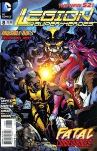 Legion of Super-Heroes #8 (2012)