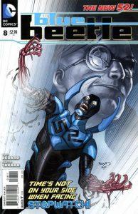 Blue Beetle #8 (2012)
