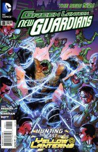 Green Lantern: New Guardians #8 (2012)