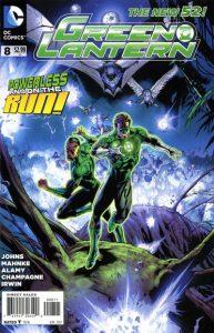 Green Lantern #8 (2012)