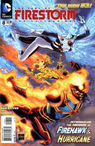Fury of the Firestorms: The Nuclear Men #8 (2012)