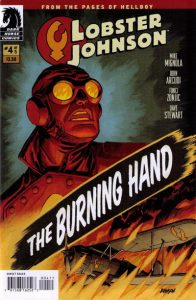 Lobster Johnson: The Burning Hand #4 [9] (2012)
