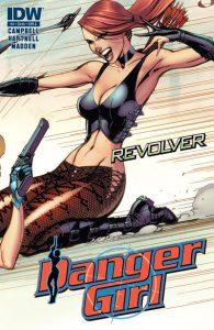 Danger Girl: Revolver #4 (2012)