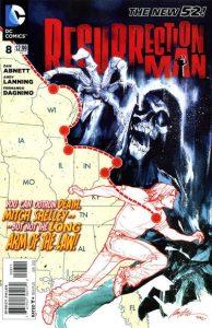 Resurrection Man #8 (2012)