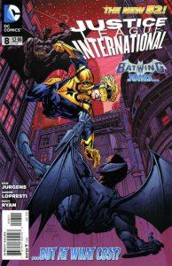 Justice League International #8 (2012)