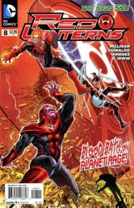 Red Lanterns #8 (2012)