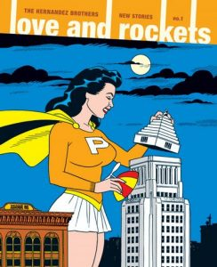 Love and Rockets: New Stories #1 (2012)