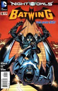 Batwing #9 (2012)