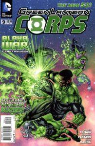 Green Lantern Corps #9 (2012)