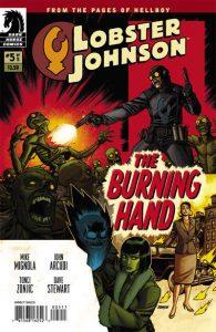 Lobster Johnson: The Burning Hand #5 [10] (2012)