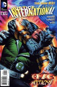 Justice League International #9 (2012)