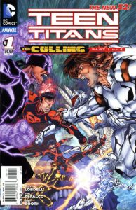 Teen Titans Annual #1 (2012)