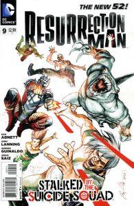 Resurrection Man #9 (2012)