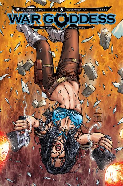 War Goddess #8 (2012)