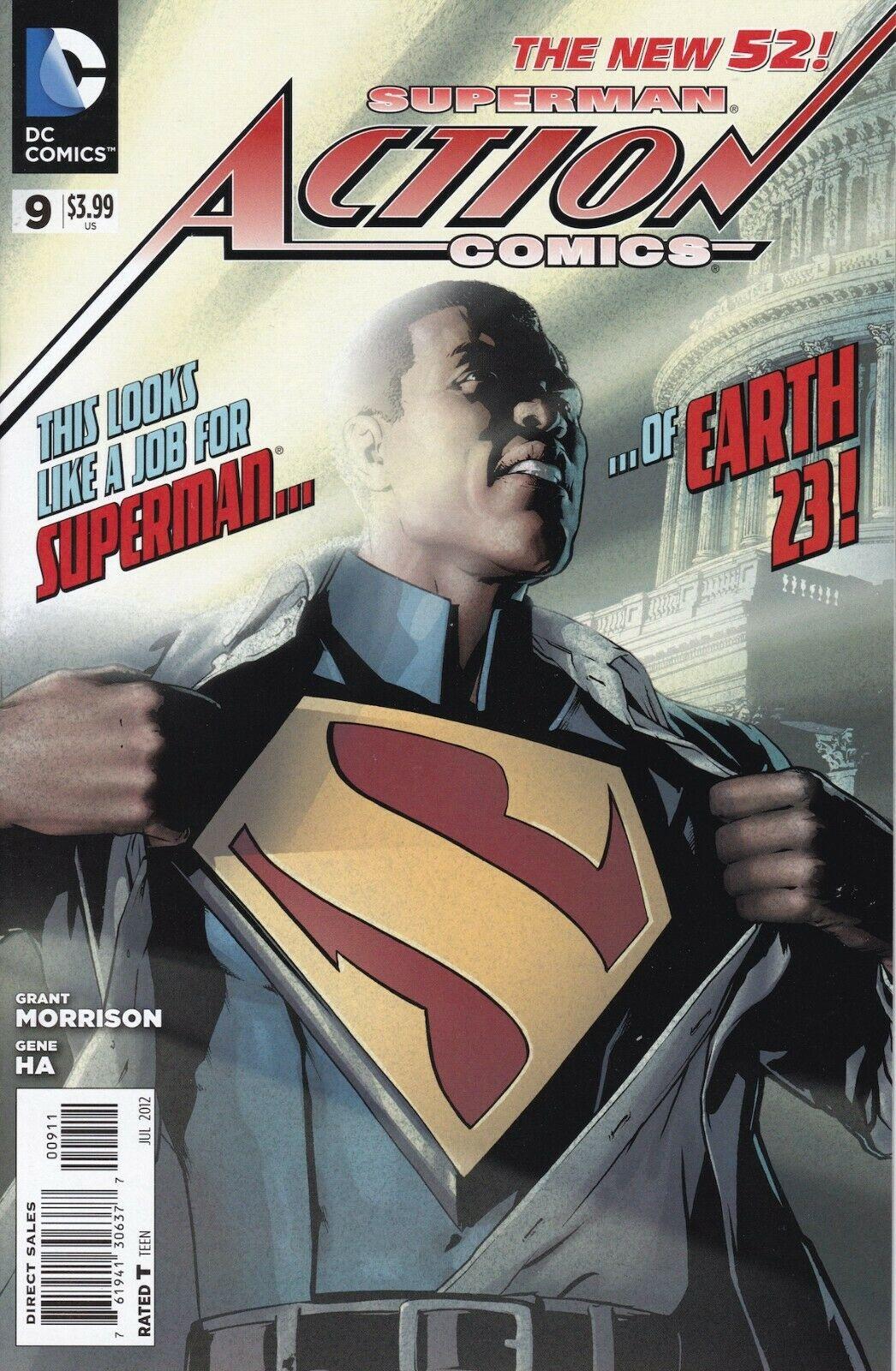 Action Comics #9 (2012)