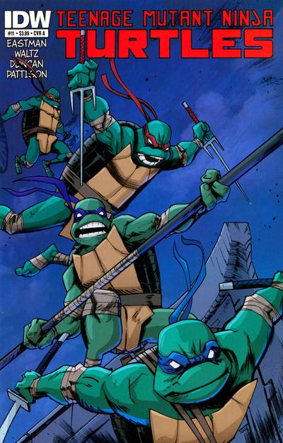 Teenage Mutant Ninja Turtles #11 (2012)