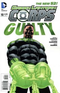 Green Lantern Corps #10 (2012)