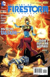 Fury of the Firestorms: The Nuclear Men #10 (2012)