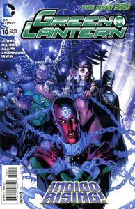 Green Lantern #10 (2012)