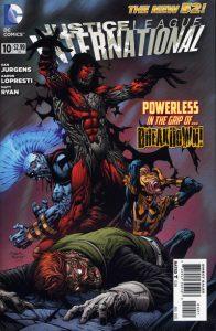 Justice League International #10 (2012)