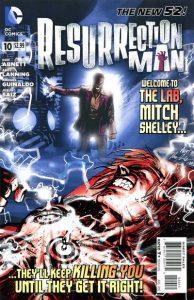 Resurrection Man #10 (2012)