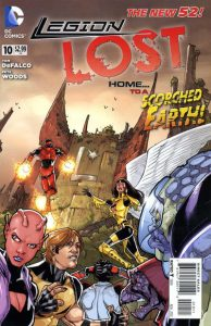 Legion Lost #10 (2012)