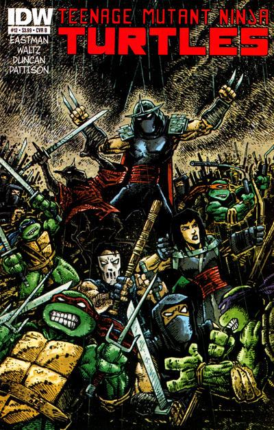 Teenage Mutant Ninja Turtles #12 (2012)