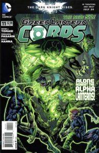 Green Lantern Corps #11 (2012)