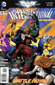Justice League International #11 (2012)