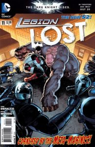 Legion Lost #11 (2012)