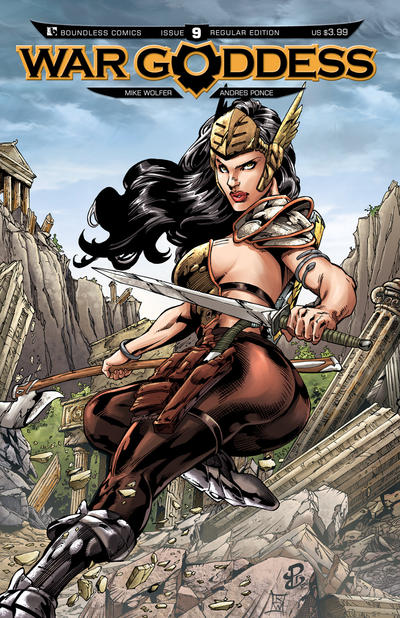 War Goddess #9 (2012)