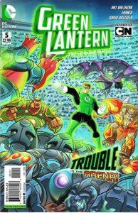 Green Lantern: The Animated Series #5 (2012)