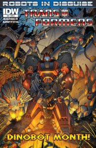 The Transformers: Robots in Disguise #8 (2012)