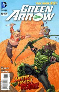 Green Arrow #12 (2012)