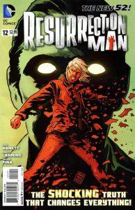 Resurrection Man #12 (2012)