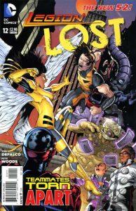 Legion Lost #12 (2012)